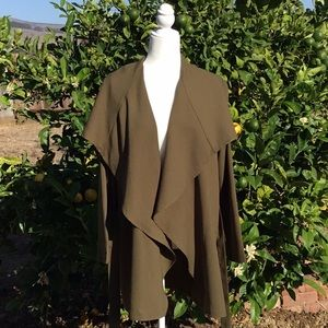 Olive green Duster Coat